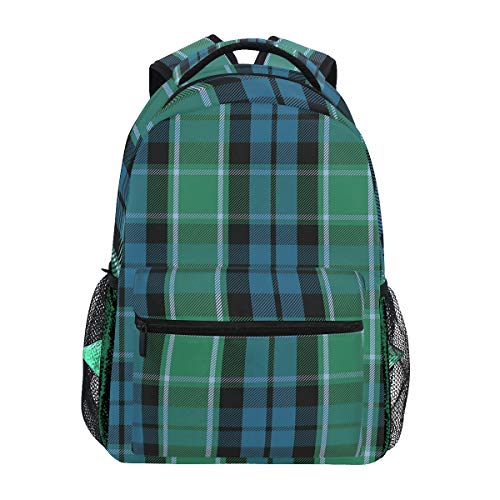 Graham Of Menteith Tartan Backpacks College School Book Bag Travel Hiking Camping Daypack