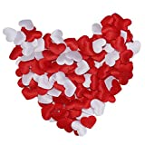 Hemlock Valentine's Day Red Heart Confetti Adornments, Birthday Wedding Party Heart Decoration (200Pcs)