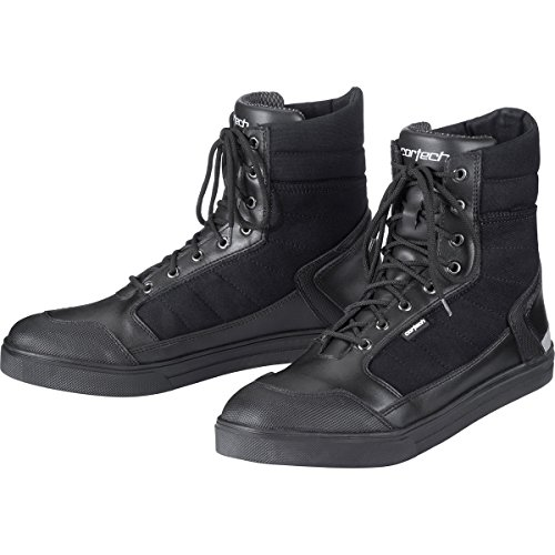 (Cortech Vice WP Men's Riding On-Road Motorcycle Shoes - Black/Black/Size 14)