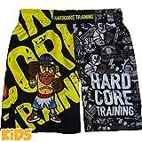 Hardcore Training Boys' Workout & Training Shorts