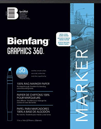 Bienfang Graphics 11 by 14-Inch 360 Paper Pad, 50 (Blaster Graphic)