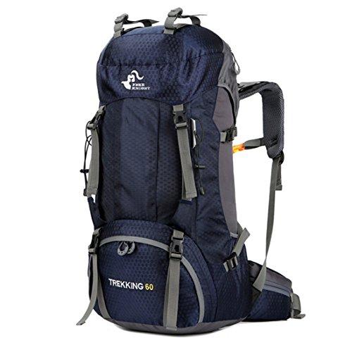 plein air 60L air housse Bleu avec sac voyage Foncé dos sac de pluie à dos à sac en anti livre en sports en randonnée Luckywe plein x7qP8FnpHq