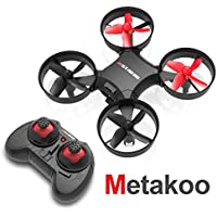 Metakoo Mini Drone Altitude Hold, RC Quadcopter Drone 2.4G 4CH 6 Axis Headless Mode Nano Quadcopter Kids Drone with Remote Control Helicopter RC Toy