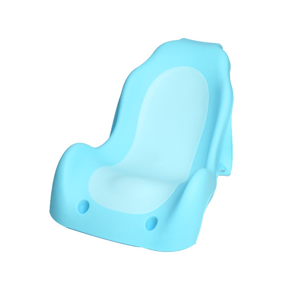 Folding bathtub TOYM US Baby Shower Rack Newborn Can Sit And Lie On The Universal Bathing Net Baby Bath Support Baby Bath Seat Non-slip Tub Bracket (Color : Blue)
