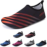 red 39 thirty - FCKEE Water Sports Shoes Barefoot Quick-Dry Aqua Yoga Socks Slip-on for Men Women Kids,X.Red-38/39