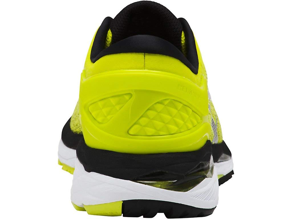 ASICS Men's Gel-Kayano 24 Running Shoes, 6M, Sulphur/Black/White by ASICS (Image #5)