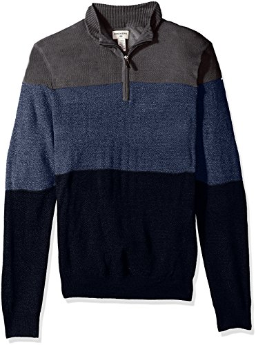 Dockers Men'sQuarter Zip Soft Acrylic Sweater