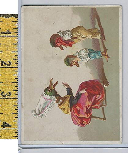 Victorian Card, 1890's, Animals, Birds as Humans (I)