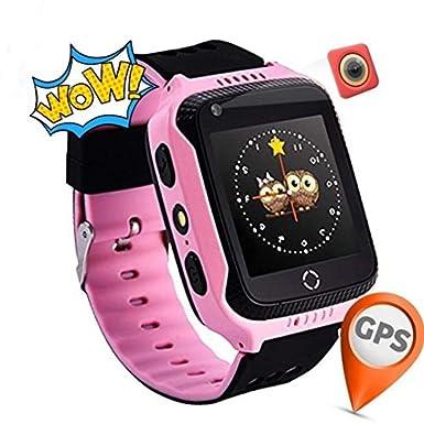 Reloj Infantil Smartwatch para Niños Con llamada Toque HD Pantalla ...