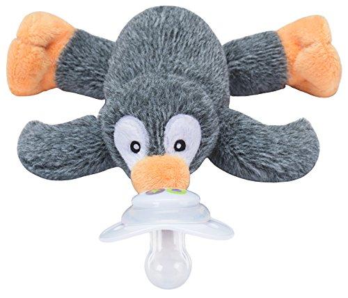 Nookums Paci-Plushies Penguin - Universal Pacifier