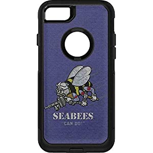 US Navy OtterBox Commuter iPhone 7 Skin - Seabees Can Do Vinyl Decal Skin For Your OtterBox Commuter iPhone 7 by Skinit