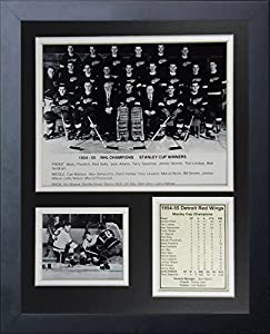 "Legends Never Die 1955 Detroit Red Wings Champions Collage Photo Frame, 11"" x 14"""