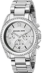 Michael Kors Watches Ladies Silver Blair Watch