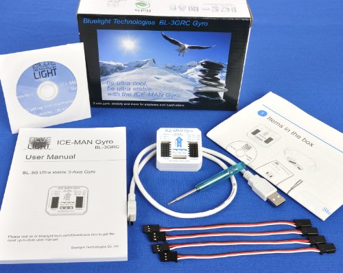 - 3 Axis Gyro and Aircraft Controller (BL-3GRC)