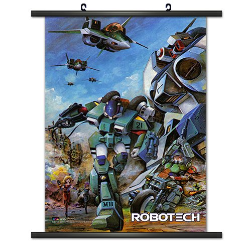 CWS Media Group Officially Licensed Robotech Wall Scroll Pos