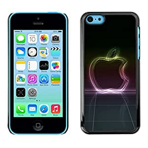 NUMO Slim Sleek Case Cover Armor Polycarbonate Aluminium / Neon Glow Apple / Apple Iphone 5C