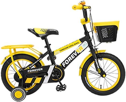 DT Bicicleta para niños 2-3-4-6-7-8-9-10 años Bebé 12/14/16 ...
