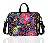 15.6-Inch Laptop Shoulder Sleeve Bag Case With Handle For 15 15.6' Acer Dell Hp classic colourful