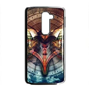Artistic bat butterfly fashion phone case for LG G2