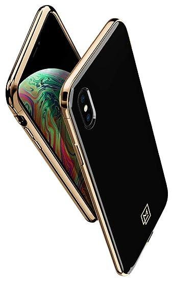 brand new e1ff3 bc655 Amazon.com: La Manon [étui Chic Glossy Case Designed for iPhone Xs ...