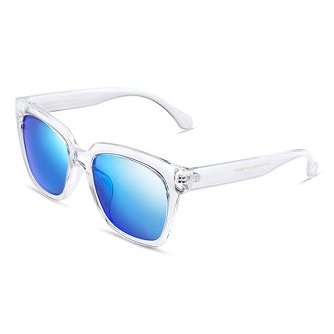 Gafas de sol polarizadas para hombre Gafas de piloto para hombre Gafas de sol cuadradas Gafas de sol vintage al aire libre, B: Amazon.es: Ropa y accesorios