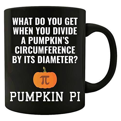 Pumpkin Pi Math Halloween Joke - Mug ()