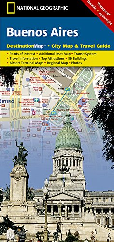 Buenos Aires (National Geographic: Destination City Map)