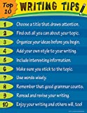 Teacher Created Resources Top 10 Writing Tips Chart, Multi Color (7716)