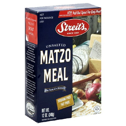 Streits Matzo Meal, 12-Ounce Boxes (pack of 36) by Streit's