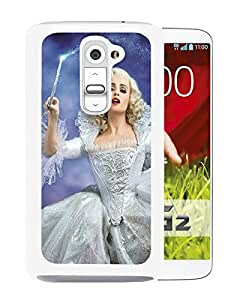 For LG G2,Cinderella 2015 Fairy Godmother White Protective Case For LG G2