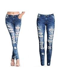 DaySeventh New Sexy Women Denim Skinny Pants High Waist Stretch Jeans