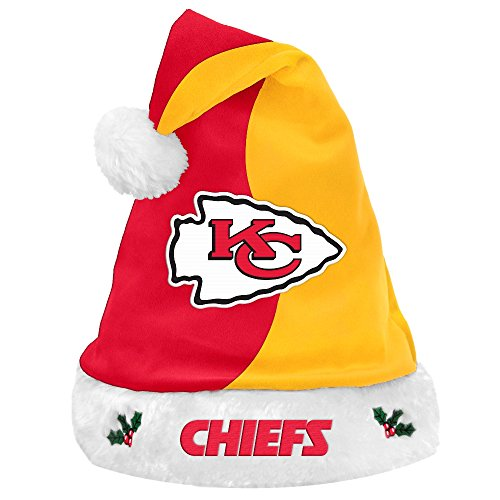 Kansas City Chiefs 2017 Basic Santa Hat -