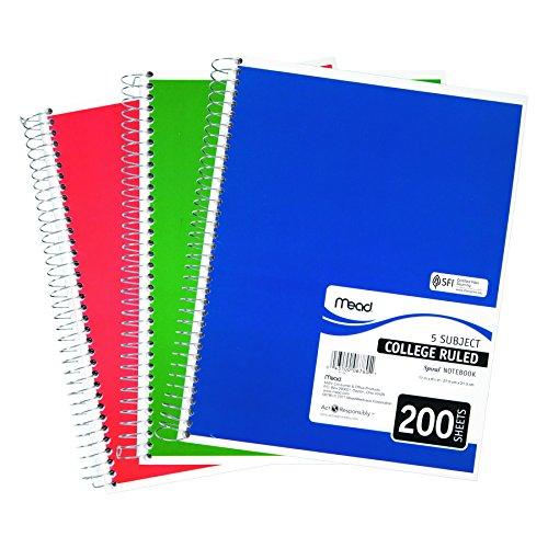 8 5 X 11 Spiral Notebook - 2