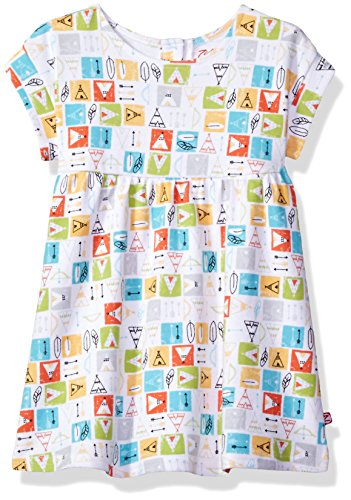 (Zutano Baby Girls' Garden Dress, Teepee, 18M (12-18 Months))