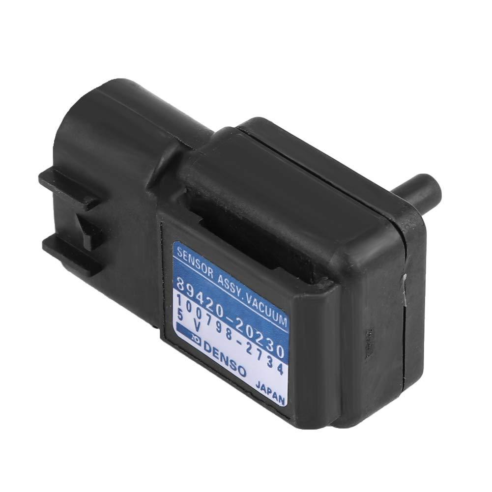 Aluminum+ABS Fit for Corolla 89420-20230 Yctze Pressure Sensor,Car Manifold Air Absolute Pressure MAP Sensor