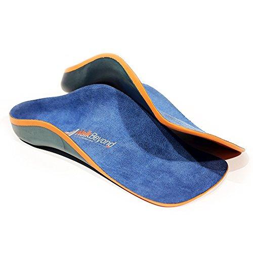 Self Moldable Custom Orthotics (Podiatrist Grade) Fight Fasciitis, Arch & Foot Pain. Sports & Dress Shoe Inserts. The world's thinnest 3ply orthotic. (US Man's 5-6 / Woman's 6-7 (Custom Orthotics)