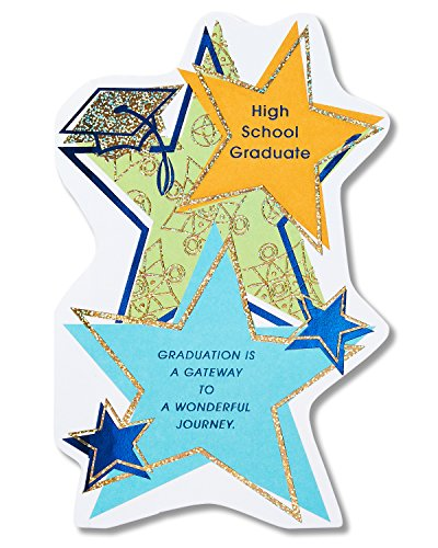 American Greetings High School Graduation Card with Foil