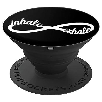 Amazon.com: Inhale Exhale Accesorio Yoga Infinity Símbolo ...