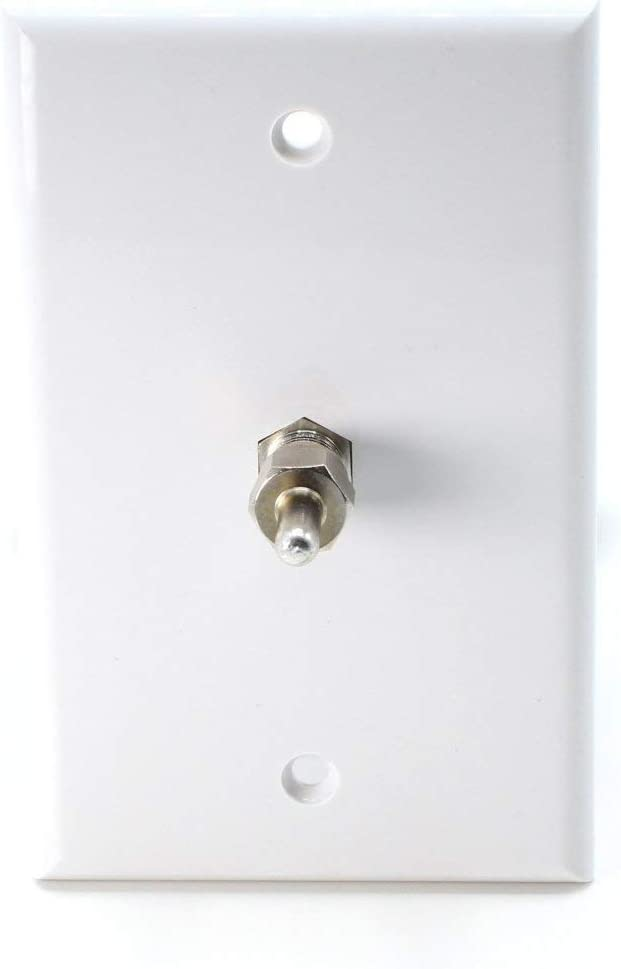 Install on Unused Ports in Your Cable Antenna F-Pin // F81 THE CIMPLE CO 10 Pack Coaxial F Type 75 Ohm Terminator Satellite or Other RF System 75 Ohm Resistor for Coax and RF -