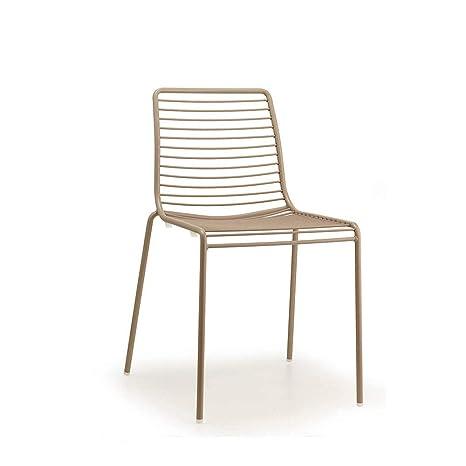Amazon.com: Juego de 2 sillas de verano con diseño de ...