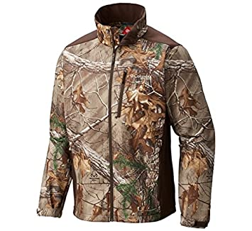 fac44a294429f Columbia Men's PHG Stealth Shot III Softshell Jacket, Realtree Xtra,  Cordovan, ...