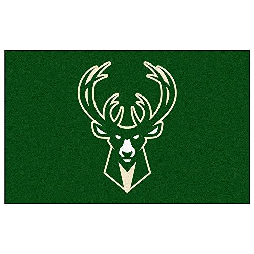 Fan Mats Milwaukee Bucks Ulti-Mat, 60'' x 96'' by Fanmats