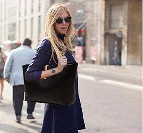 Wyhui Hot Korean Lady Women Hobo PU Leather Messenger Handbag Shoulder Bag Purse