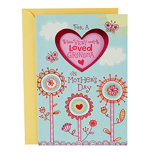 Hallmark Mother's Day Card for Grandmother from Kids (Very Loved Grandma Sticker)