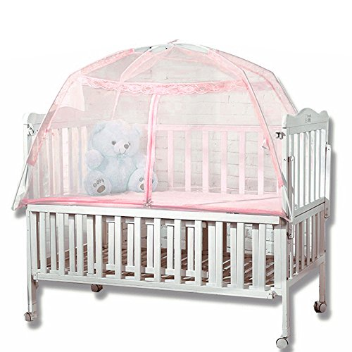 Sealive Baby Kid Infant Nursery Bed Crib Mosquito Net Netting Kindergarten Mosquito Nets Yurts Mosquito Nets Play Tent,Baby Playard with Mosquito Net,Can be Folded and Portable