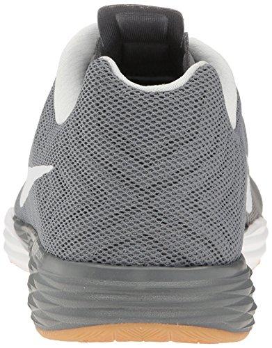 NIKE Mens Train Prime Iron DF Cross Training Shoe, Cool Grey/White/Black/Pure Platinum, 7.5 D(M) US