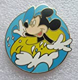 Walt Disney World Cast Lanyard Series Inner Tube Mickey Disney Trading Pin