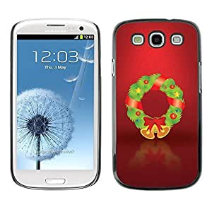YOYO Slim PC / Aluminium Case Cover Armor Shell Portection //Christmas Holiday Decorations 1252 //Samsung Galaxy S3 by icecream design