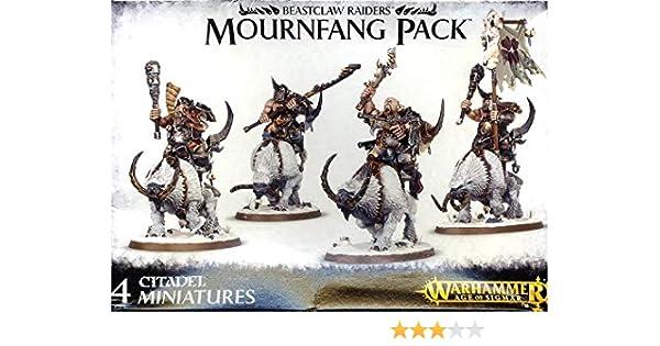 Warhammer Age of Sigmar Beastclaw Raiders Mournfang Pack: Amazon.es: Juguetes y juegos
