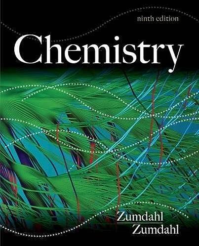 chemistry steven s zumdahl susan a zumdahl 8601419620692 rh amazon com Zumdahl Chemistry 9th Edition Online Zumdahl Chemistry Fifth Edition